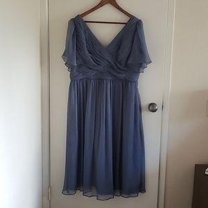 NWT BHLDN Kia Dress Custom Tailored with Sleeves